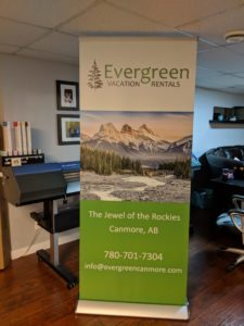 Evergreen_Vacation_Rentals_Canmore_Banner_Stand
