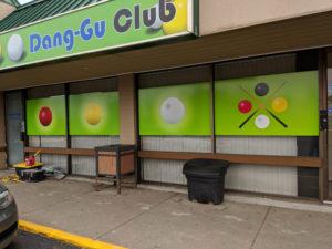Dang Gu Window Decals