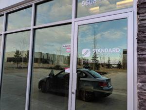 Standard Scaffold Front Door Sticker